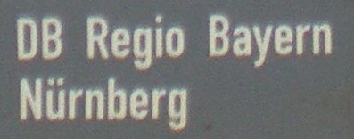 DB Regio Bayern: Nürnberg