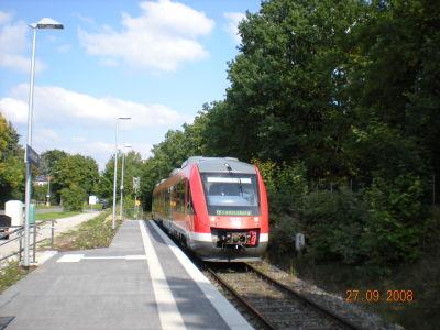 In: Fürth Westvorstadt; Richtung: RB Cadolzburg