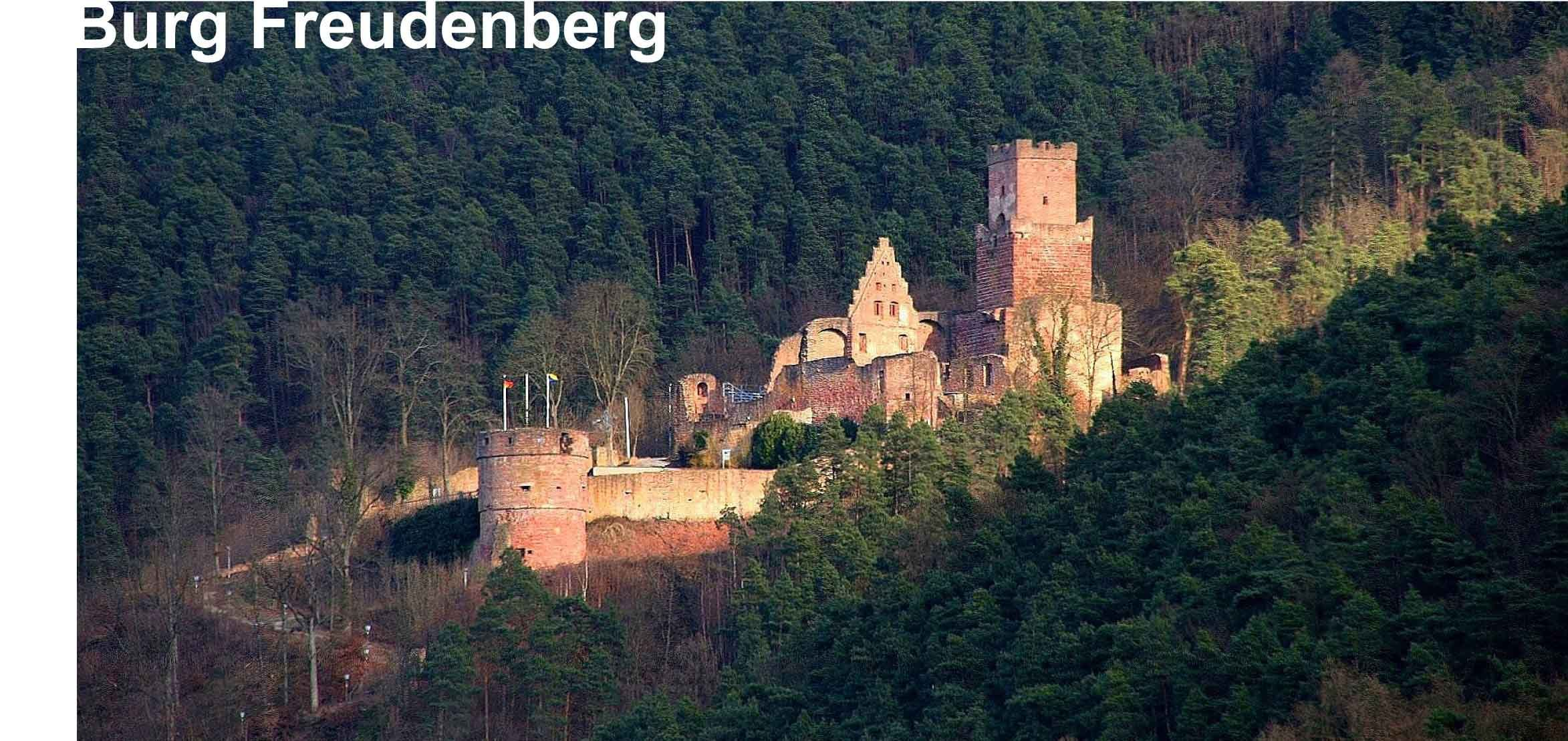 schl sser und burgen in baden w rttemberg burg freudenberg. Black Bedroom Furniture Sets. Home Design Ideas