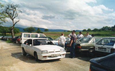 Schlössle mit Funkbetrieb in den 90ern