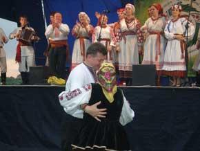 Обласний фольклорний фестиваль-конкурс імені Василя Полевика, місто Щорс, с. Займище