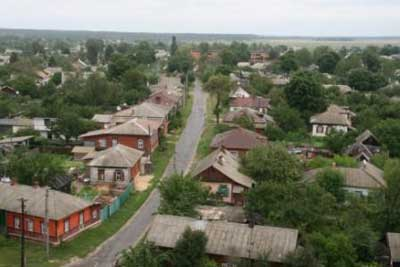 город Щорс - панорама