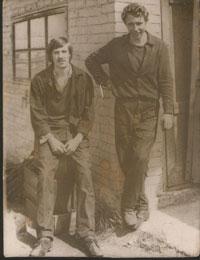 Микола Охріменко (справа)