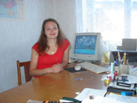 Оксана Валеріївна ЛИЧАК, Щорс