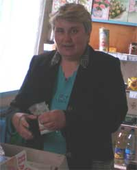 Олена Мелешко, Щорс