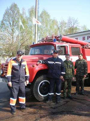 пожарная часть №64 г. Щорс