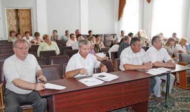 Органи місцевого самоврядування місто Щорс