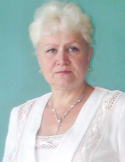 Любов Григорівна Удод, город Щорс