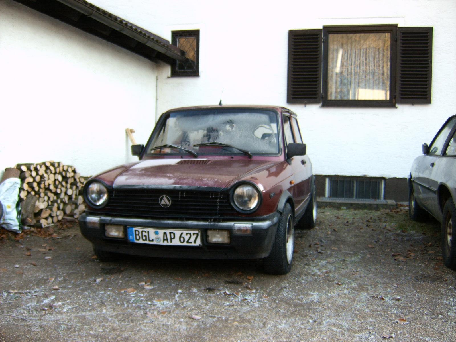Lancia a112 (front)
