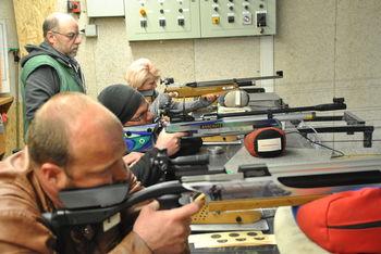 Schützen Luftgewehr