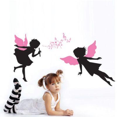 Fantasy deco vinilos decorativos cuarto ni as for Vinilos para nenas