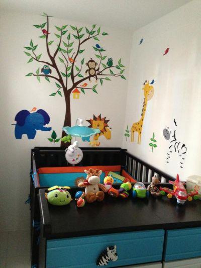 Fantasy deco vinilos decorativos cuarto del bebe for Vinilos para habitaciones de ninos