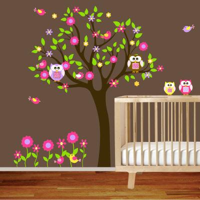 Fantasy deco vinilos decorativos cuarto del bebe for Definicion de cuarto