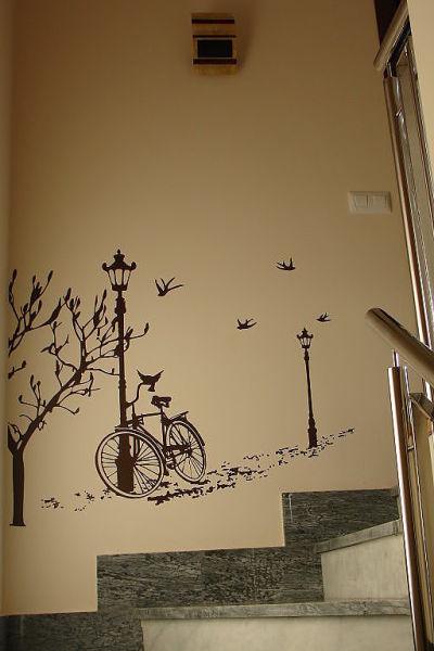 Fantasy deco vinilos decorativos escaleras y gradas - Decoracion escaleras interiores paredes ...