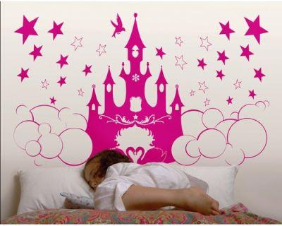 Fantasy deco vinilos decorativos princesas for Vinilos decorativos infantiles para nina