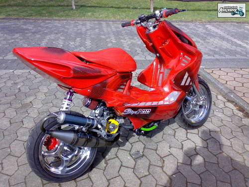 Yamaha Scooter Aerox