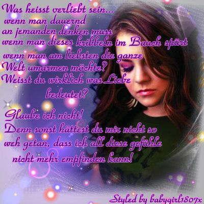 gedichte verliebt sein