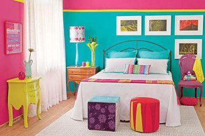 Senin cin bir dunya pembe gen k z odas modelleri - Como decorar una habitacion juvenil femenina ...