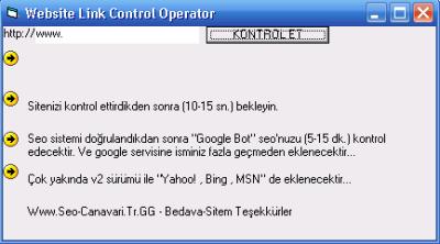 website link control operator