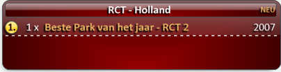 RCT - Holland Awards