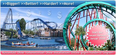 freizeitpark-planspiel.de - Manage deinen eigenen Freizeitpark im Internet!