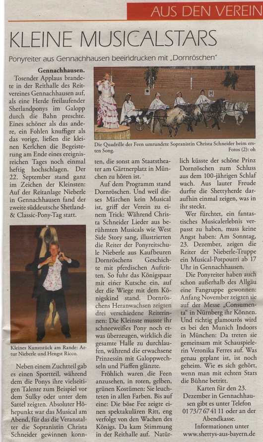 Musicalstars vom Shetlandponygestüt Farbenfroh, Besitzer Artur Nieberle, Kaufbeuren