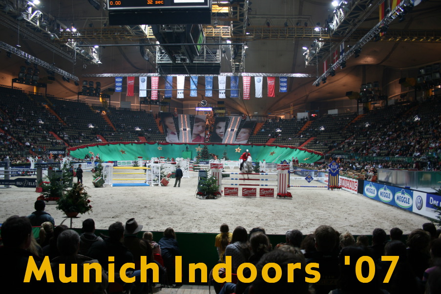 Munich Indoors, ein internationales Reitturnier in der Münchner Olympiahalle vom 30. Nov.-02. Dez. 2007