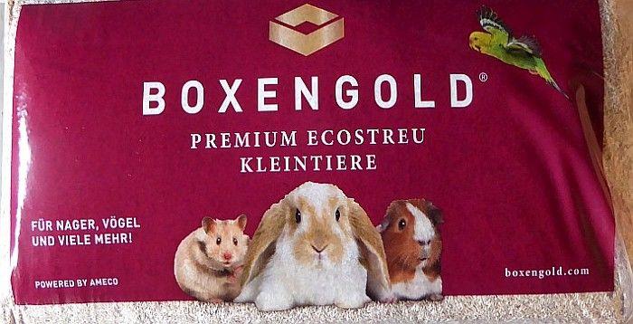 Boxengold Einstreu