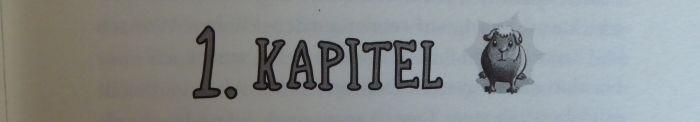 Kapitelüberschrift von Der Tag an dem mein Meerschweinchen Kriminaloberkommissar wurde von Brigitte Endres