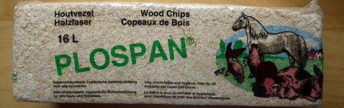 Verpackung von Plospan Holzfaser