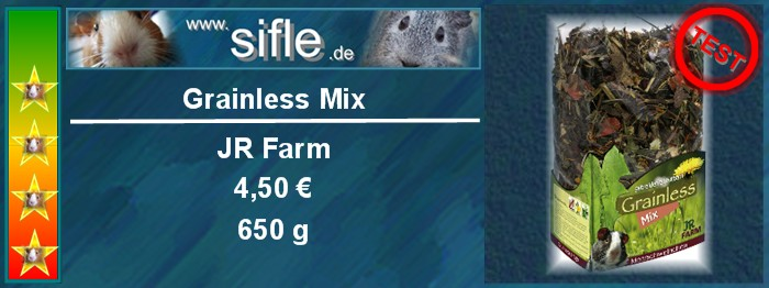 JR Farm Grainless Mix im Test