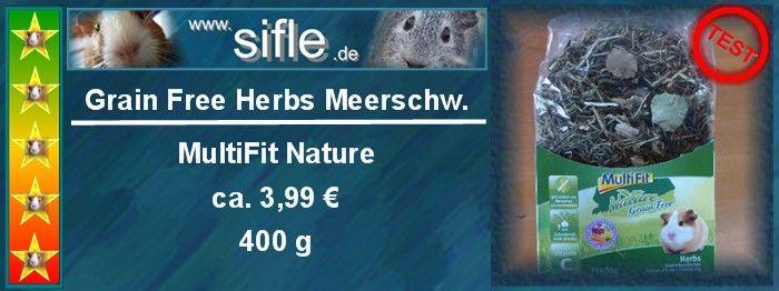 Grain Free Herbs Meerschweinchen
