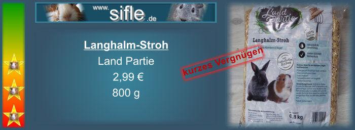 Langhalm-Stroh
