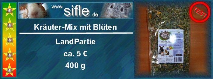 LandPartie Kräuter-Mix mit Blüten