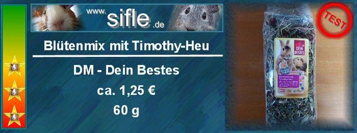 Blütenmix mit Timothy-Heu