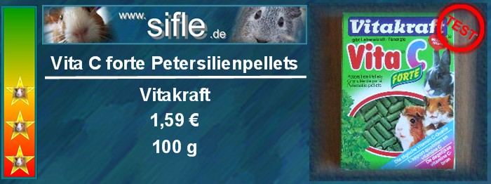 Vitakraft Petersilienpellets im Test