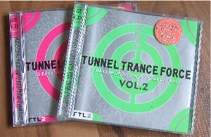 Tunnel Trance Force Techno CDs