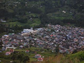 Vista de Sigsig desde Curín