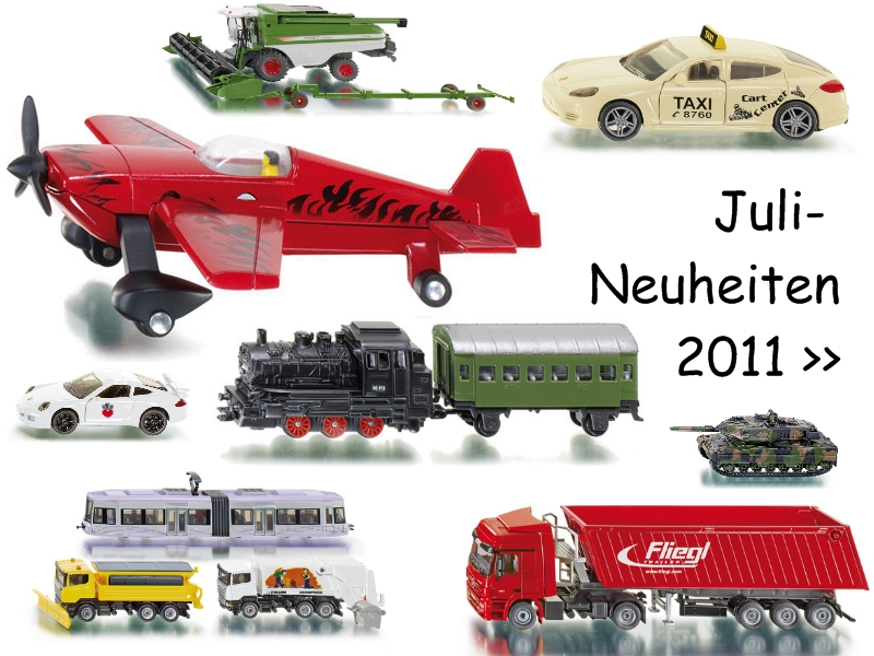 Das 3. Neuheitenpaket 2011