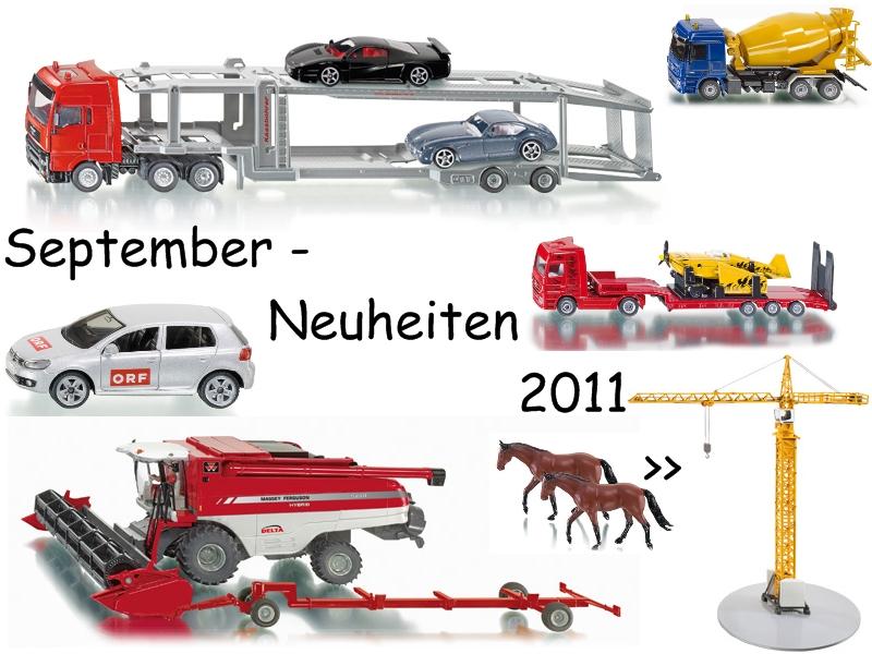 Das 4. Neuheitenpaket 2011