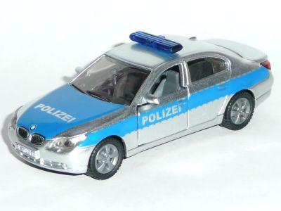 VW T5, chromsilber/ signalblau, Modell mit Bodenplatte von VW Transporter (#1338)