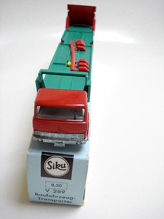 Magirus Baufahrzeug-Transporter Reprobox Siku V 289
