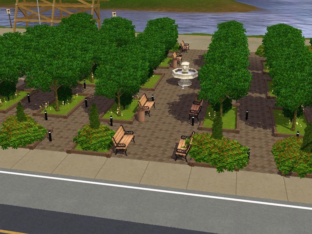 Sims3 immobilier jardin de l 39 industrie for Jardin immobilier