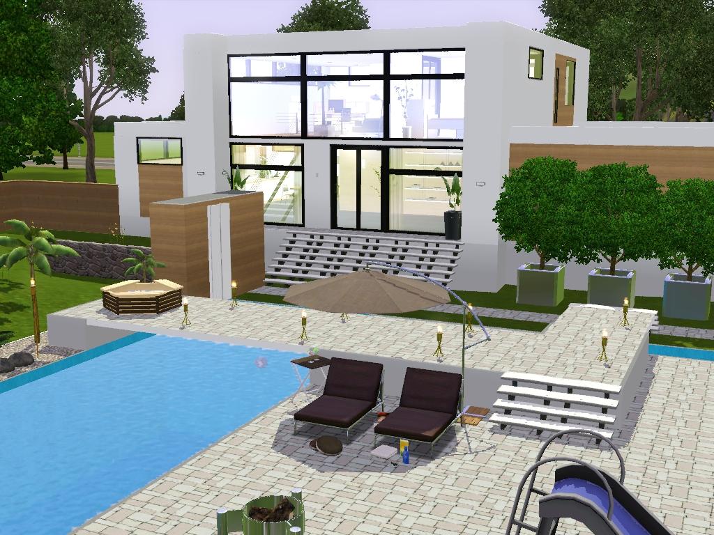 Sims3 Immobilier Moderna Villa