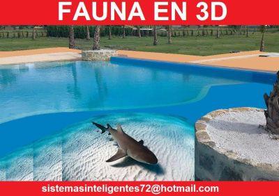Sistemasinteligentes72 piscinas con fauna digital for Piscina playa precio
