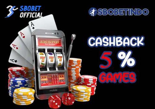 Cashback 5% game