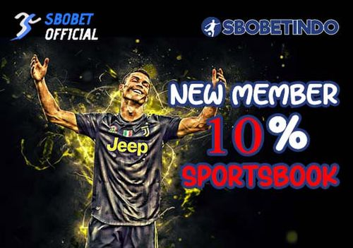 Bonus Anggota Baru 10% Sportsbook