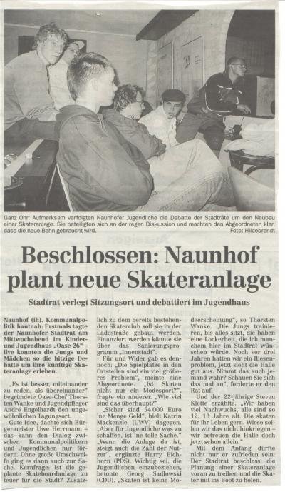 Naunhof plant neuen Skatepark