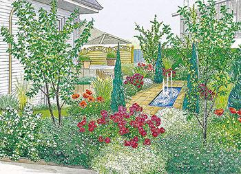 kleine garten grose wirkung gestaltungsideen ~ möbel ideen ... - Kleine Garten Grose Wirkung Gestaltungsideen