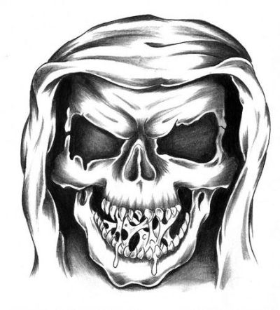 Punk Skull Tattoo Designs